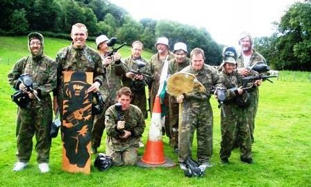 Paintball North Wales